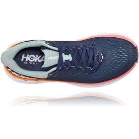 Hoka One One Clifton 7 Scarpe da corsa Donna, black iris/blue haze